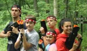 Laser Tag in Lancaster, PA at Black Rock Retreat
