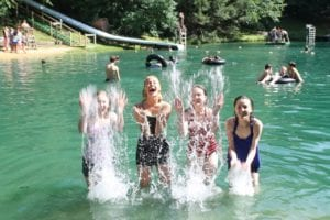 Fun at the Black Rock Retreat Lake!