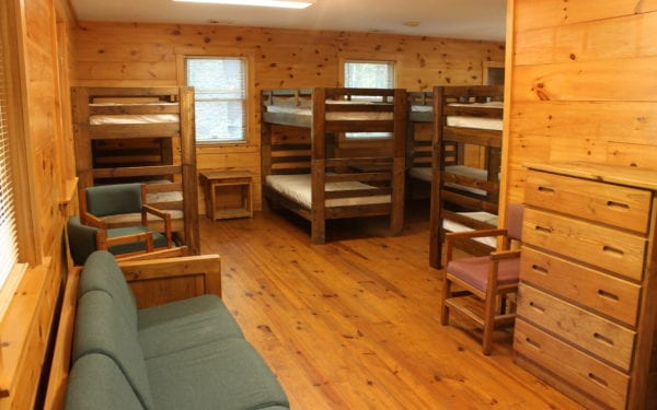 Bunk Bed Cabins At Black Rock Retreat In Lancaster County Pa