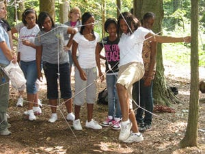 Low Ropes Course Activity