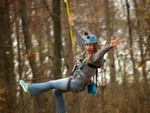 Giant Outdoor Swing Activity