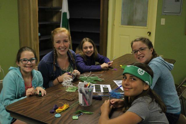 Summer Camp Crafts Shack