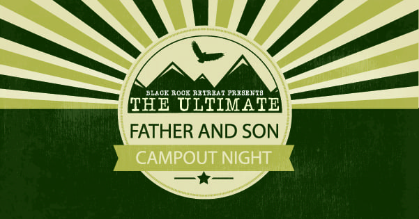 Father and Son Campout