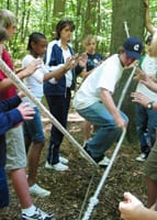 Team Building Low Ropes Course Activity
