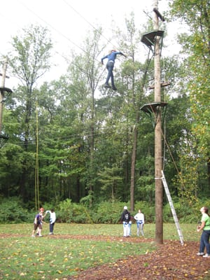 High Ropes Course Participants