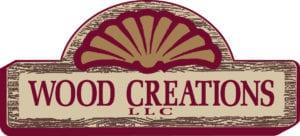 WOOD CREATIONS logo color