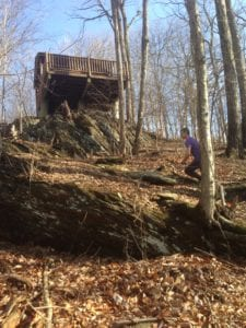 Trail Run - Run the Rock - overlook