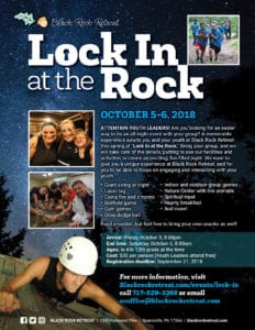 Youth Group Lock-In at Black Rock Retreat