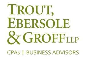 Trout, Ebersole, Groff - logo, business, sponsor
