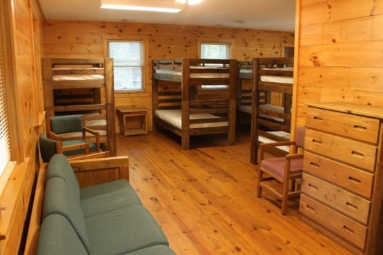 Youth Group Retreat Lodging Accommodations
