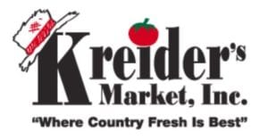 Kreider's Market, logo, sponsor