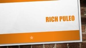 Rich Puleo, banquet