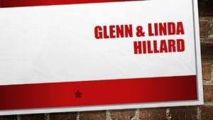 Glenn & Linda Hillard, banquet