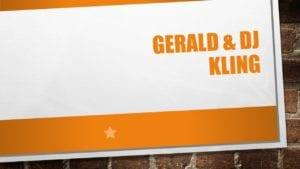 Gerald & DJ Kling, banquet