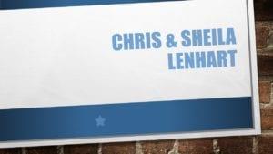 Chris & Sheila Lenhart, banquet