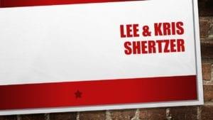 Lee & Kris Shertzer, banquet
