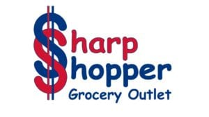 Sharp Shopper, logo, sponsor